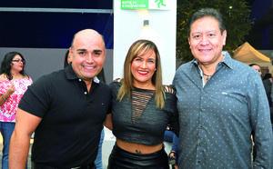 23092017 BUENOS AMIGOS.  Manuel, Ely y Jorge.
