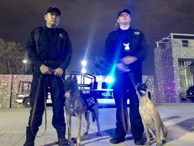Son dos binomios de la Dirección de Seguridad Pública Municipal de Torreón.
