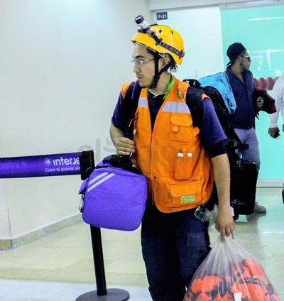 Los laguneros viajaron a la Ciudad de México el pasado 20 de septiembre.