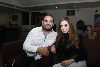 Martín Minchaca y Brenda Banderas.