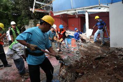 El sábado inició el censo de afectaciones en Morelos.