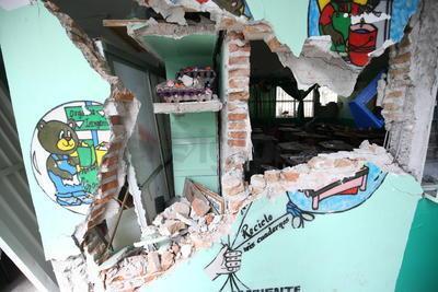 Así lucen escuelas en Jojutla.