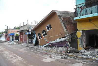 Ha comenzado la etapa de demolición de los edificios y viviendas que quedaron a punto del colapso y significaban una amenaza mortal.