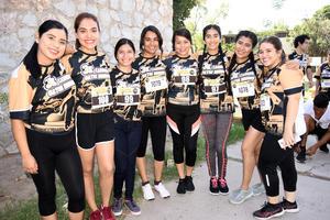 25092017 Valeria, Julissa, María Guadalupe, Thannia, Liliana, Ángela, Ana Patricia y Karen.