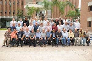 25092017 LA FOTO DEL RECUERDO.  Hermano Rubén Sámano Álvarez en el festejo que se le organizó por sus 80 años de vida.