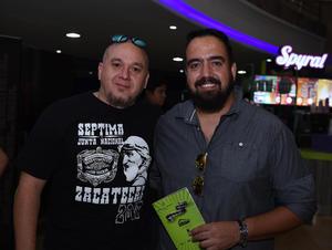 Erick Sotomayor Ruiz  FENACINE. Chepe y Jorge.