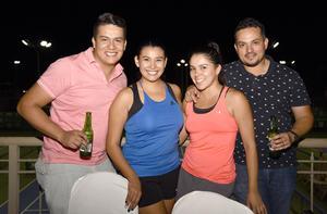 26092017 Ana, Mariana, Valeria, Alberto e Iván.