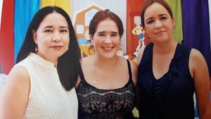 26092017 EN REUNIóN.  Martha, Idoia y Cristina.
