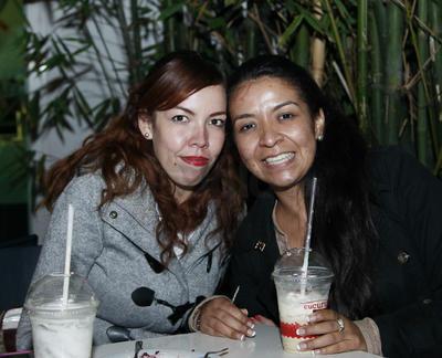 Paulina y Jaziel.
