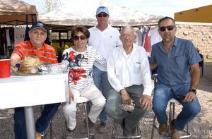 27092017 Eduardo, Alma, Eduardo, Ernesto y Ernesto.