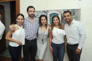 28092017 Lucero, Ernesto, Liz, Raquel y Orlando.
