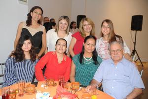 28092017 Alexandra, Judith, Cande, Hermano Antonio, Alicia, Carla, Conny e Ivonne.