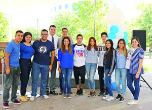 28092017 DE ANIVERSARIO.  Alumnos del Tecnológico de Monterrey Campus Laguna.