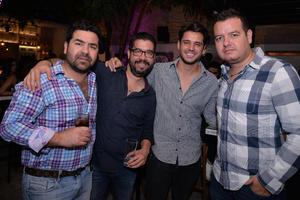 29092017 Mario, Mauricio, Rodrigo y Lalo.