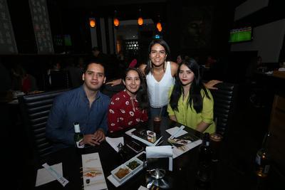 Ismael, Fer, Wendy y Diana.