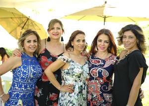 Marisa, Luly, Laura, Aracely y Mara