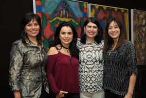 María, Mónica, Carmelita y Paty