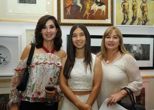 Mónica, Maluli y Lourdes