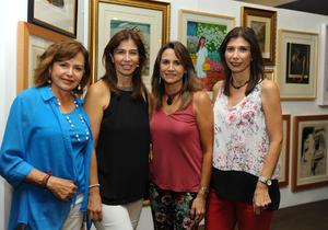 Olivia, Claudia, Catalina y Laura