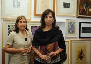 Rosa María y Cristina