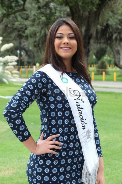 Irenia Orrante Soto, reina del Comité de Natación.