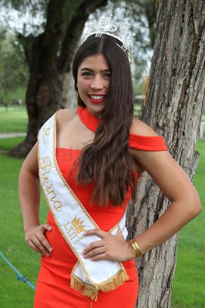 Andrea Lorena Chávez Campos, actual reina del Club Campestre de Durango.