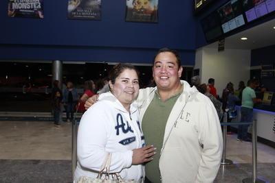 Karina Muñoz y Rodolfo.