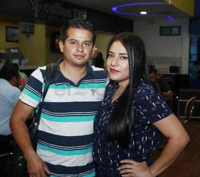 Carolina Moreno y Luis Fernández.