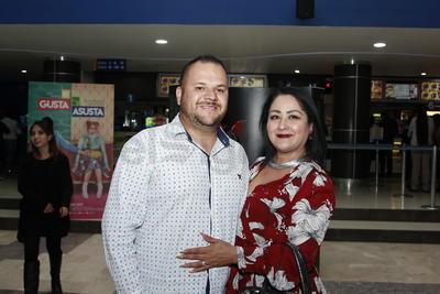 César Avitia y Laura Rosso.
