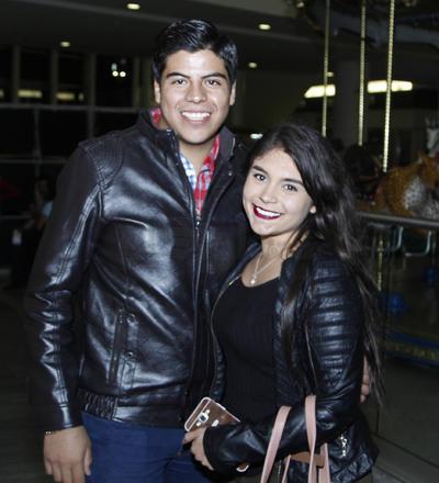 Fernando y Anaís.