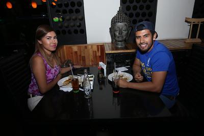Lili y Pedro.