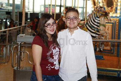 Juanita Hernández e Ilmar Mejía.