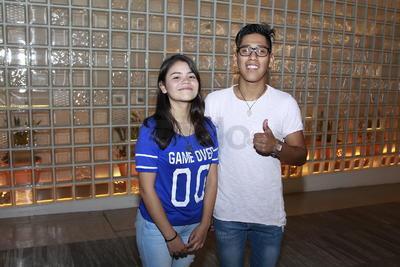 Wendy y  Fernando.