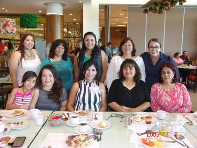 05102017 Carmelita, Yadi, Consuelo, Irma, Cecy, Lupita, Francis, Teresita y Lemus.