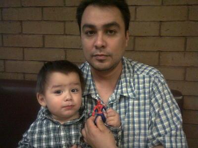 05102017 Francisco y su hijo, Paquito.