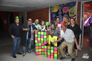 07102017 Rogelio, Flippy, Beto, Maricruz, Miriam, Judith, Omar, Neto, Ale y Yadira.