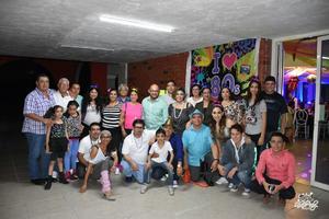 07102017 Maricruz y sus amigas del gym.