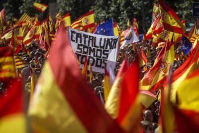 Se alzaron por la unidad de España.