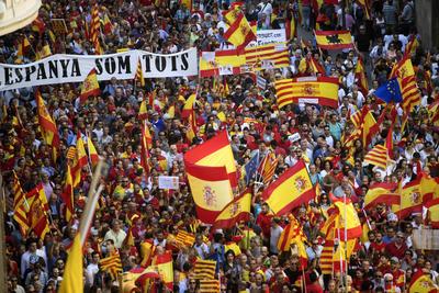 La multitudinaria manifestación superó con creces las previsiones de los convocantes,