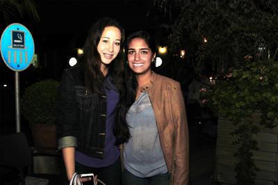 Cristina y María.