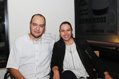 Raúl y Brenda.