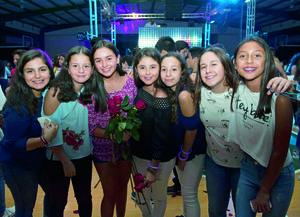 08102017 GRATOS MOMENTOS.  Ana Pao, Ángela, Valeria, Camila, Ana, Isabela y Alexa.
