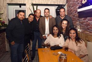 09102017 Rafa, Juan, Omar, Andy, Maribel, Carolina, Gera y Lalo.