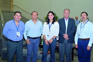 09102017 Daniel, Arturo, Lorena, Federico y Ricardo.