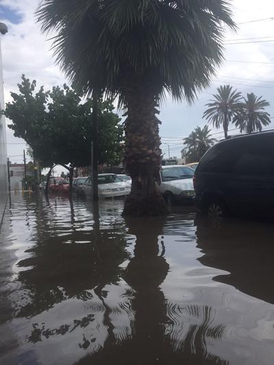 Lluvia sorprende a La Laguna