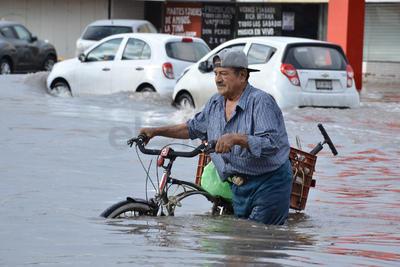 Sólo en el centro de Torreón se registró un acumulado de 91.7 milímetros de precipitación.