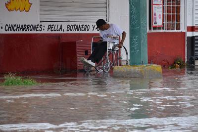 De acuerdo a la Estación Meteorológica de la Comisión Nacional del Agua la precipitación duró más de una hora.