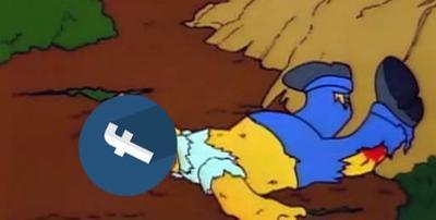 Facebook se cae... ¡pero los memes no!