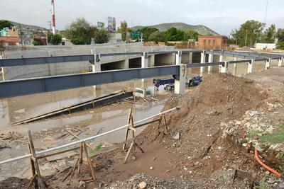 Esta etapa de la obra se realiza sobre una superficie de 6 mil metros cuadrados.