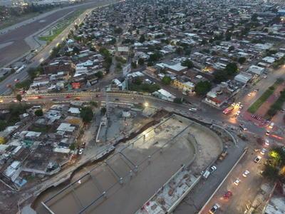 La estación Nazas lleva un 75 por ciento de avance, estará lista para finales del mes de diciembre.